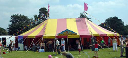Big top hire circus showsmarquee hire & big top hire - circus shows marquee hire
